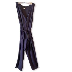 Hot & Delicious Navy Blue Jumpsuits